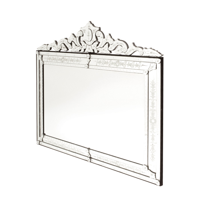 Extra large horizontal venetian mirror for Extra large mirrors