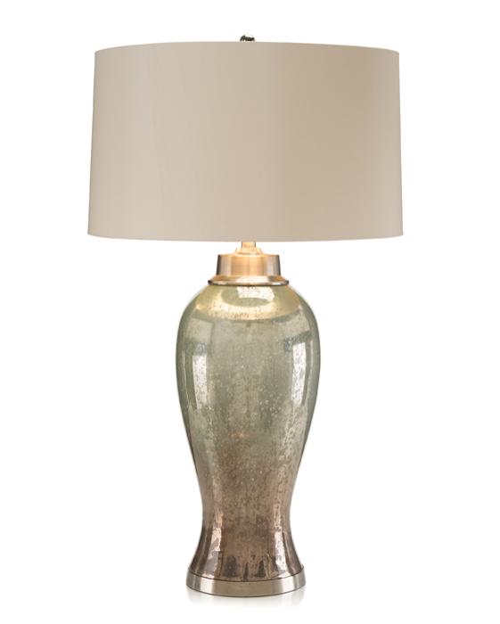 john richard hand painted mercury glass lamp jrl 8957. Black Bedroom Furniture Sets. Home Design Ideas