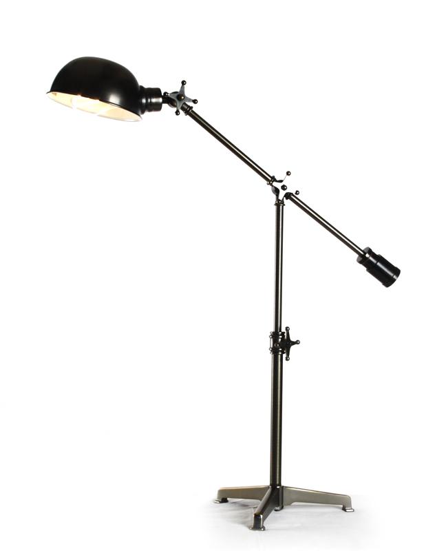 zentique retro style floor lamp. Black Bedroom Furniture Sets. Home Design Ideas
