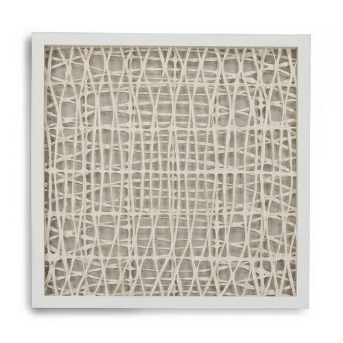 Zentique Abstract Paper Framed Art Zen22165c