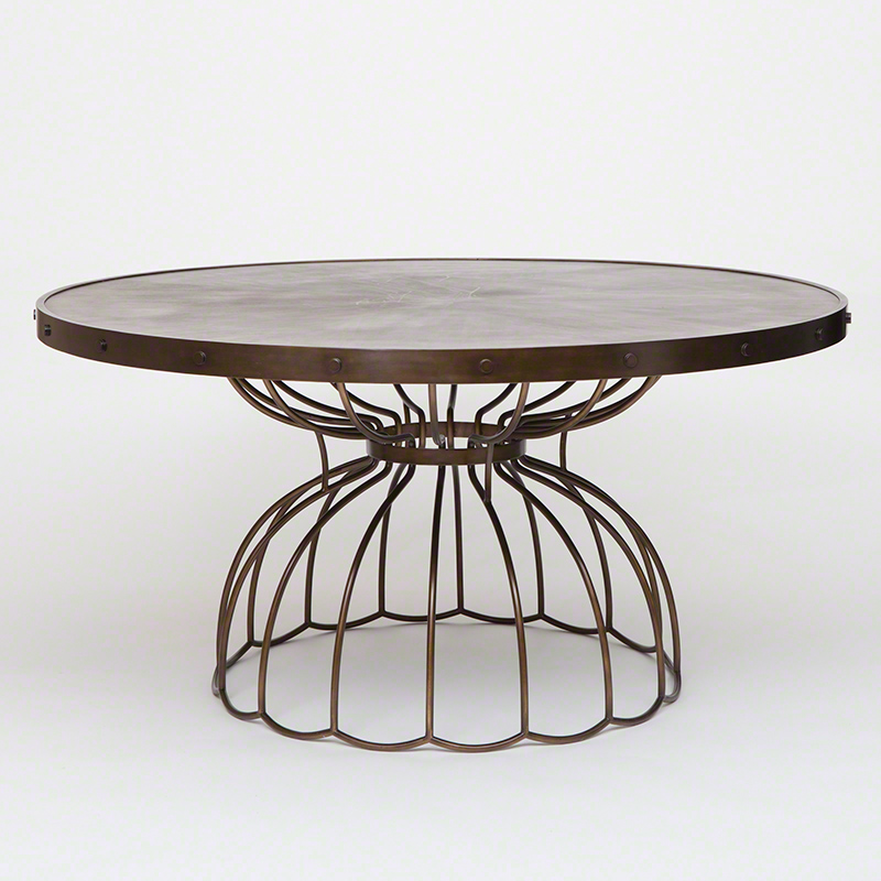 Studio a florentine round dining table 60 inch dia for 60 inch round dining table