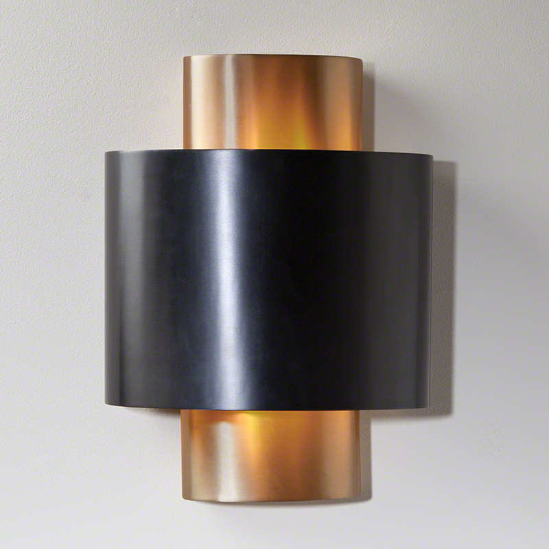 Studio A Nordic Gold Wall Sconce Hardwired