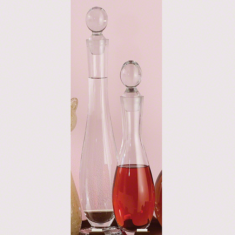 Global Views Glass: Global Views Elegant Glass Bottle Small