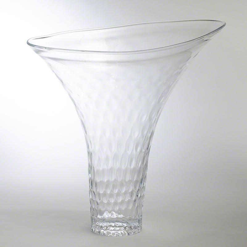 Global Views Vase: Global Views Grande Honeycomb Flair Vase