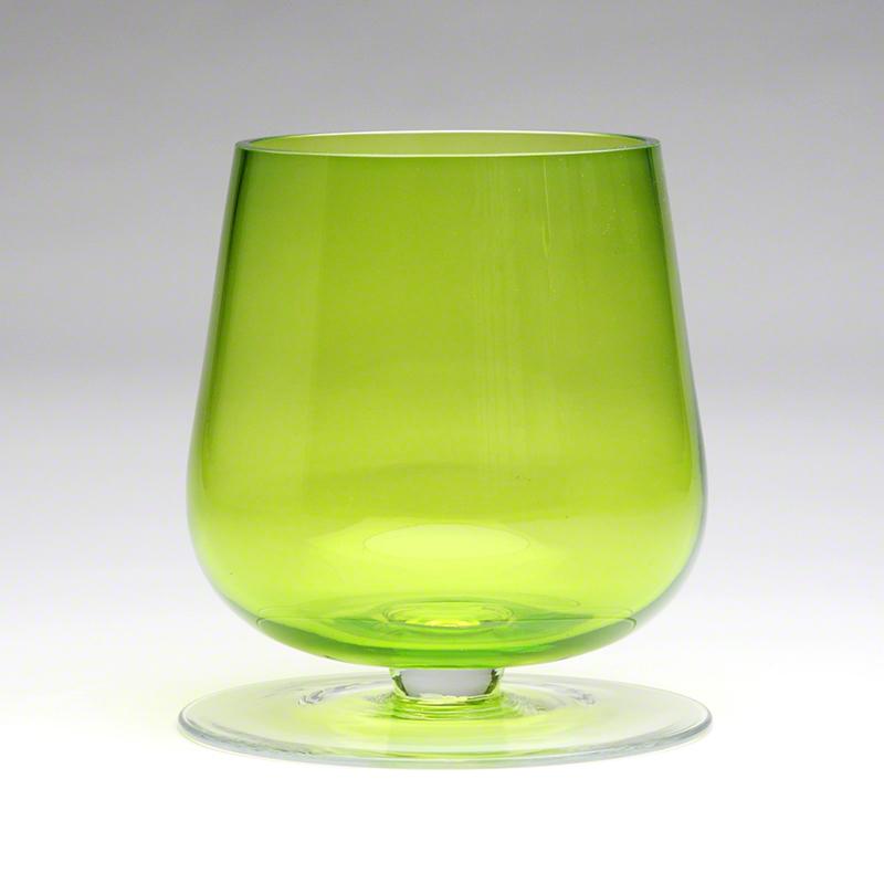 Global Views Vase: Global Views Uphold Vase Green