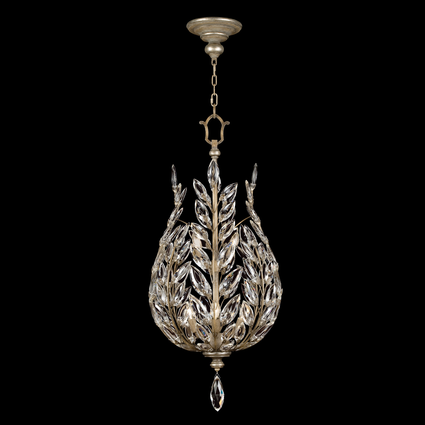 fine art lamps crystal laurel 753840st
