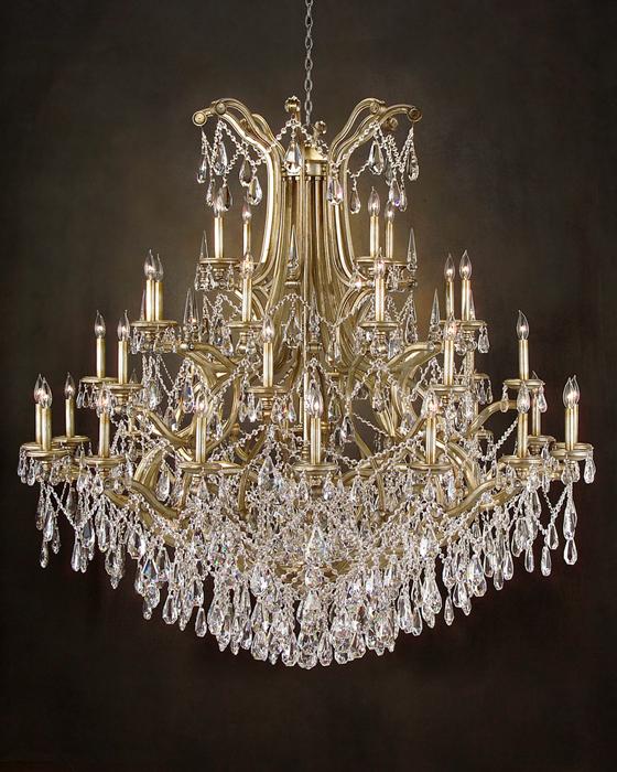 john richard 38 light chandelier ajc 8642. Black Bedroom Furniture Sets. Home Design Ideas