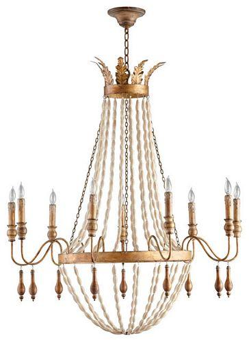 Cyan design alexandra 9 light chandelier aloadofball Gallery