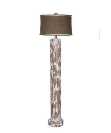 New wood cylinder floor lamp for White cylinder floor lamp