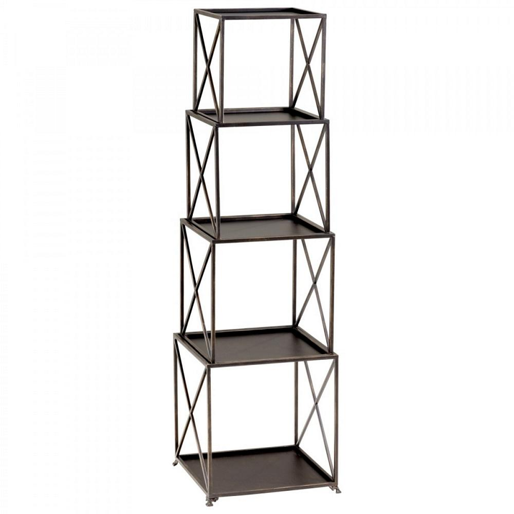 Cyan design small surrey etagere for Small bathroom etagere