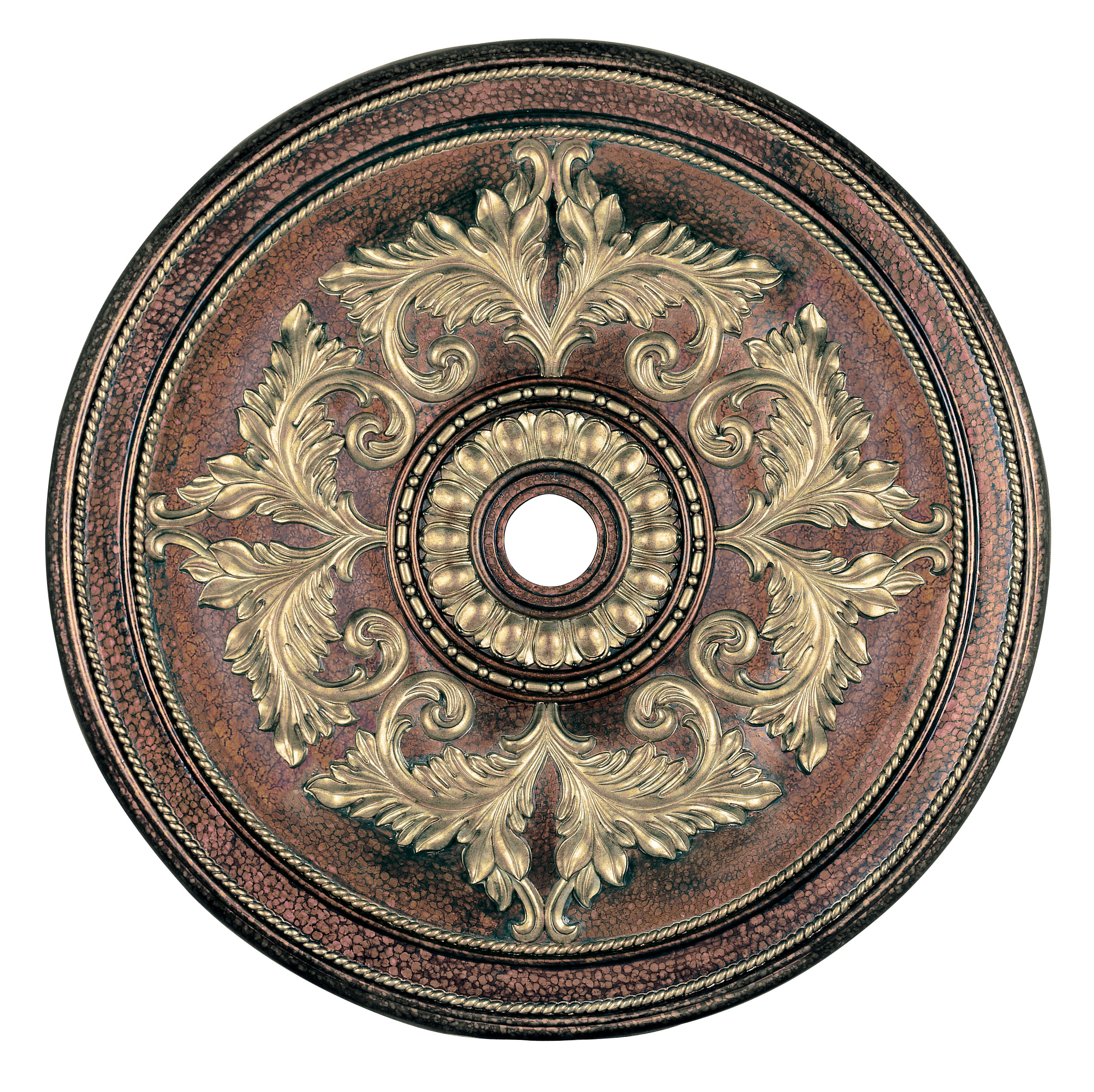 Livex Lighting Ceiling Medallion Palacial Bronze With