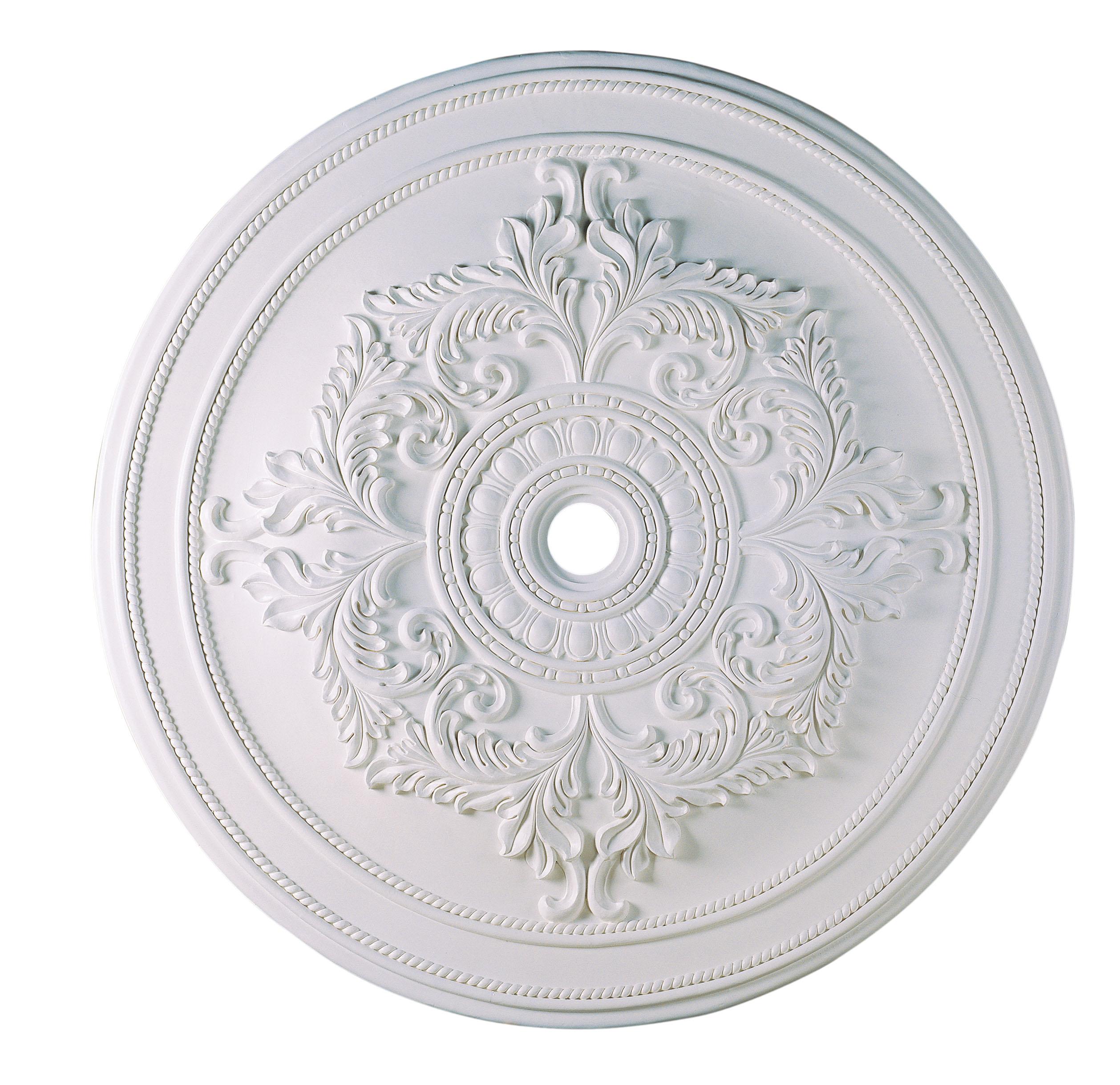 Livex Lighting Ceiling Medallions Ceiling Medallion White