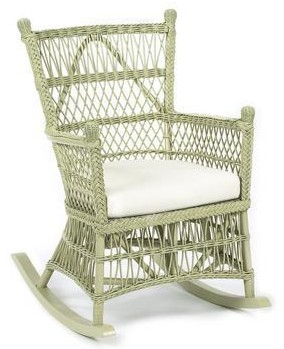 Mainly baskets beehive rocker - Wicker beehive basket ...