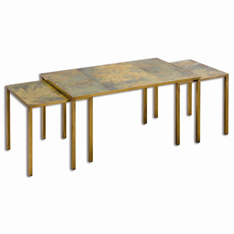 Uttermost Couper Nesting Coffee Tables Set 3
