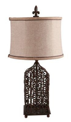New Vintage Filigree Lamp