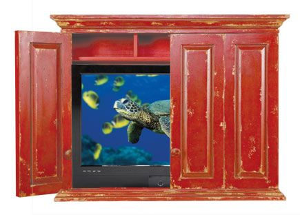 Chatham hill caleb wall mount tv cabinet for Best brand of paint for kitchen cabinets with iron man wall art