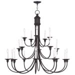 Livex Lighting Cranford Chandelier Olde Bronze 5140-67