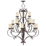 Livex Lighting Millburn Manor Chandelier Imperial Bronze 5497-58