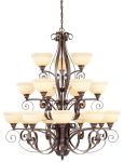 Livex Lighting Manchester Chandelier Imperial Bronze 6169-58
