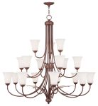 Livex Lighting Ridgedale Chandelier Vintage Bronze 6479-70