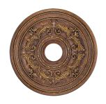 Livex Lighting Ceiling Medallions Ceiling Medallion Crackled Greek Bronze 8200-30