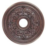 Livex Lighting Ceiling Medallions Ceiling Medallion Imperial Bronze 8200-58