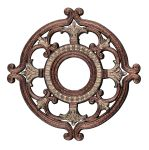 Livex Lighting Ceiling Medallions Ceiling Medallion Palacial Bronze with Gilded Accents 8218-64
