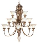 Livex Lighting Savannah Chandelier Venetian Patina 8469-57