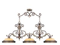Livex Lighting Seville Island Palacial Bronze with Gilded Accents 8546-64