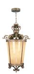 Livex Lighting Seville Foyer Palacial Bronze with Gilded Accents 8549-64
