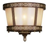 Livex Lighting Seville Ceiling Mount Palacial Bronze with Gilded Accents 8860-64