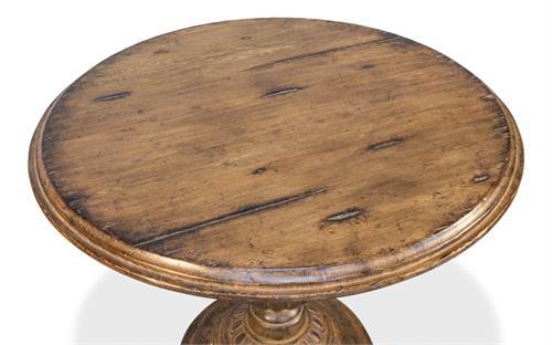 Sarreid Ltd Renaissance Pedestal Dining Table With 40 Inch Top 52766