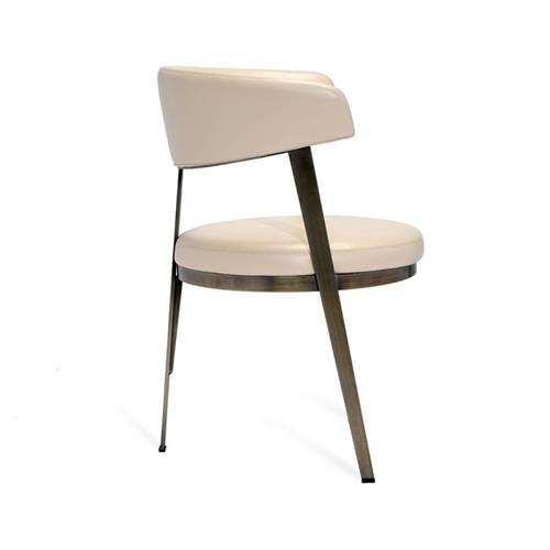 Super Interlude Adele Dining Chair Cream 148018 Machost Co Dining Chair Design Ideas Machostcouk