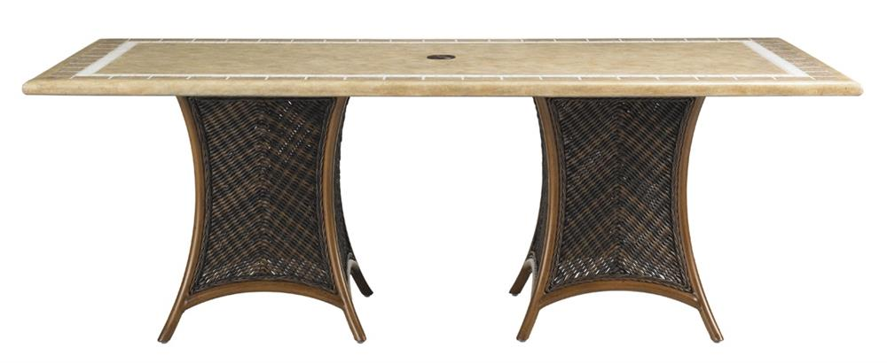 Lexington Home Island Estate Lanai Dining Table W