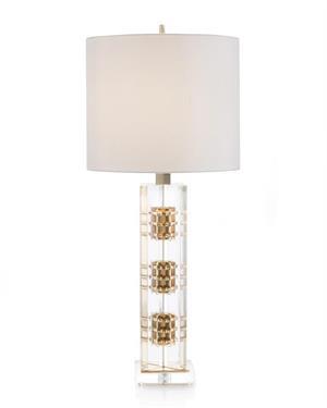 John Richard 33 5 H Brass And Acrylic Table Lamp Jrl 9761