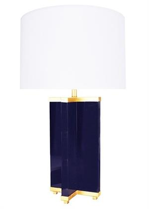 Worlds Away Cross Base Table Lamp In